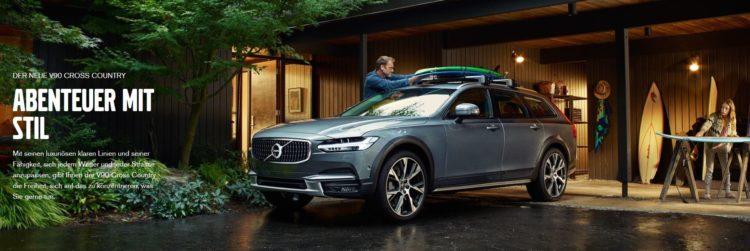 New Volvo V90 CC